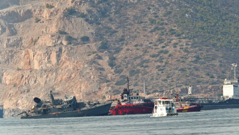 """Λιμενικό για """"Καλλιστώ"""": Προκλήθηκε θαλάσσια ρύπανση - Το σχέδιο αντιμετώπισης"""